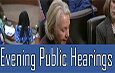 Evening Public Hearings