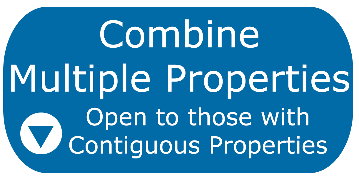 Combining multiple properties for purposes of the Water Quality Protection Charge is open to those with contiguous properties