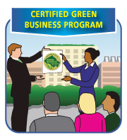 Certified green business program