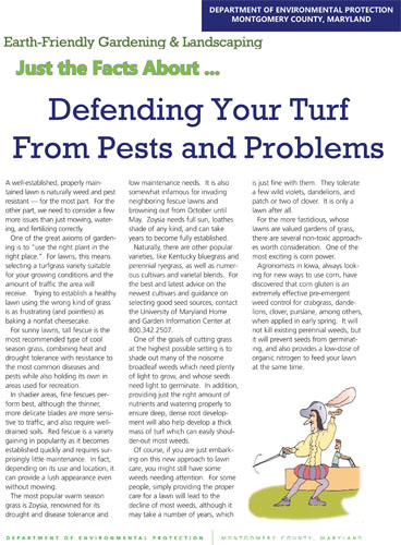 Defending Your Turf From Pests and Probelms