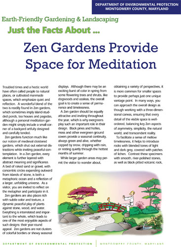 Zen Gardens Provide Space for Meditation
