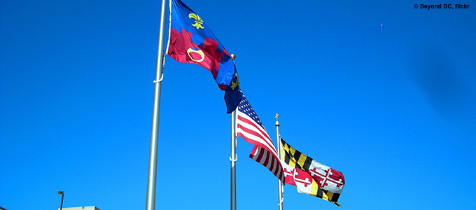 Flags of Montgomery County by Beyond DC, Flickr