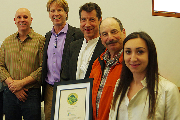 Glenstone becoming a certified green business