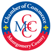 Logo of the Montgomery County Chamber of Commerce.