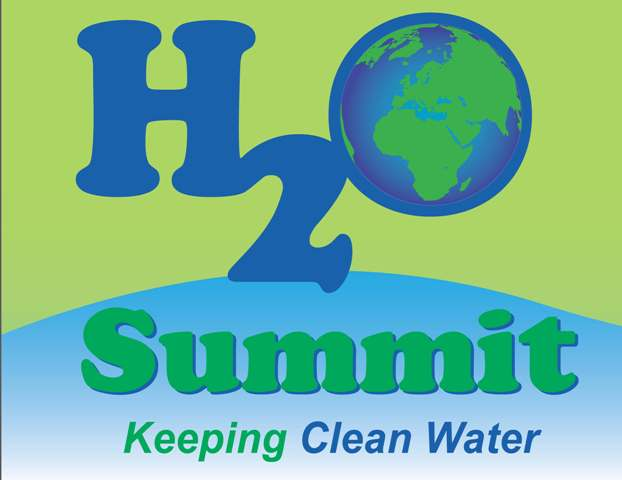 Bus ad promoting the 2011 H2O Summit