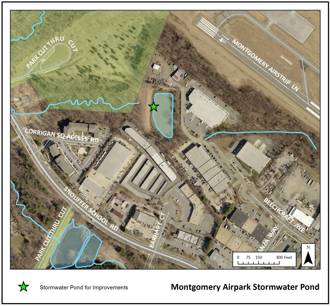 Montgomery Airpark Stormwater Pond