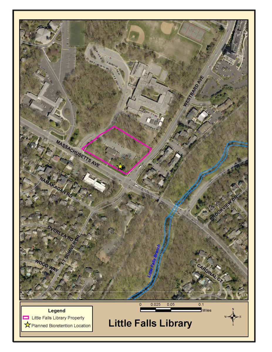 Little Falls Library Project Site Map