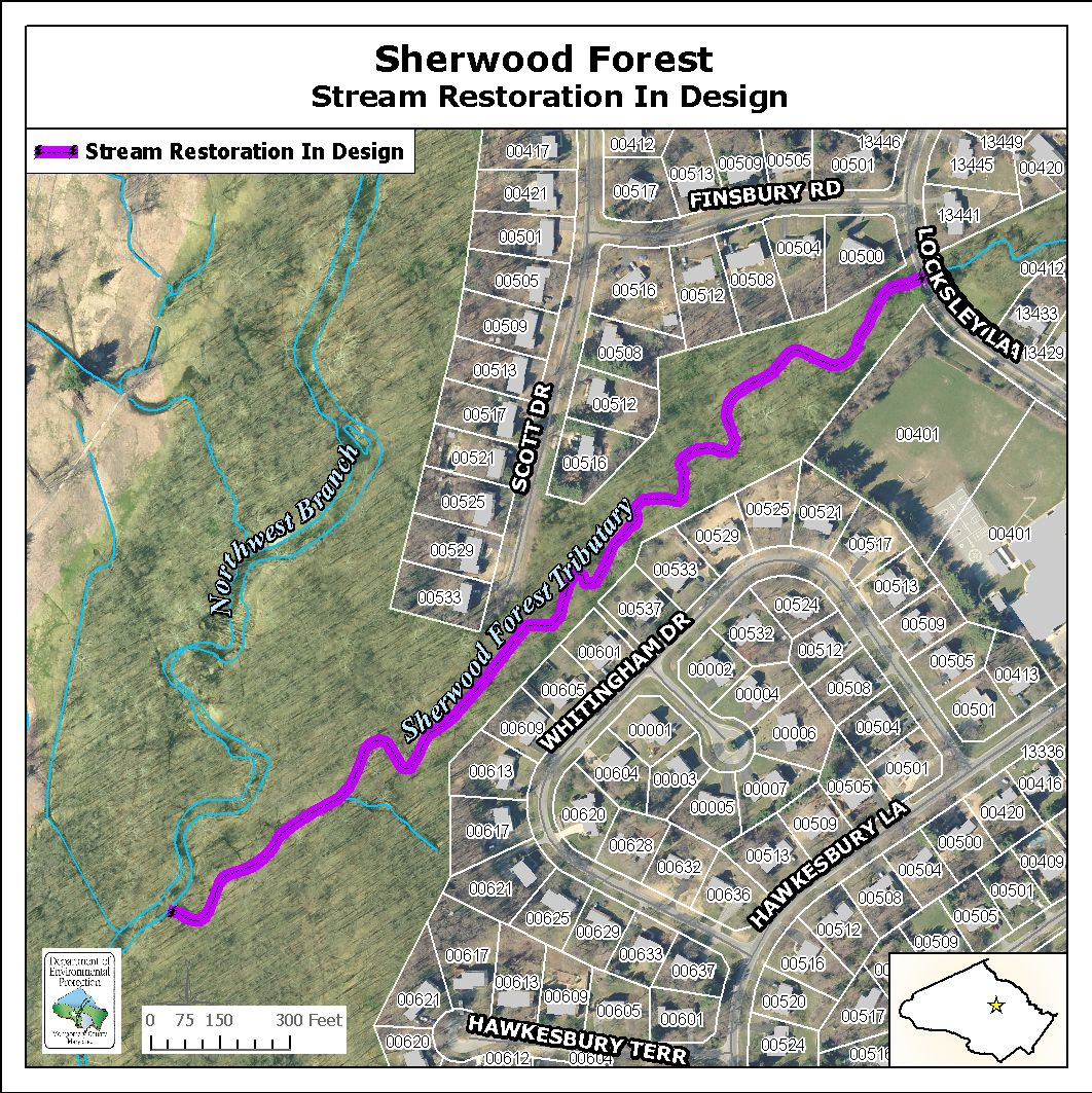 Image of Sherwood Forest Stream Map