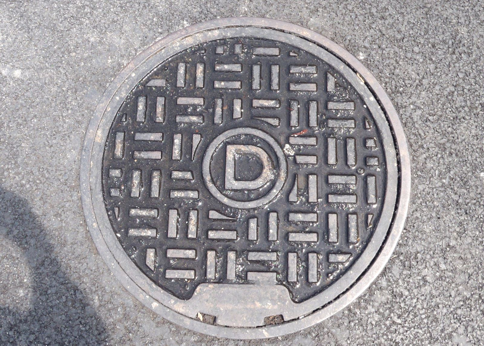 Image of a flow splitter manhole