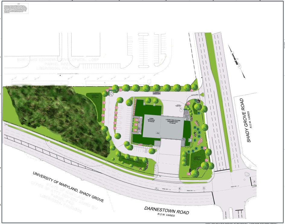 Travilah Fire Station 32 - Landscape Plan
