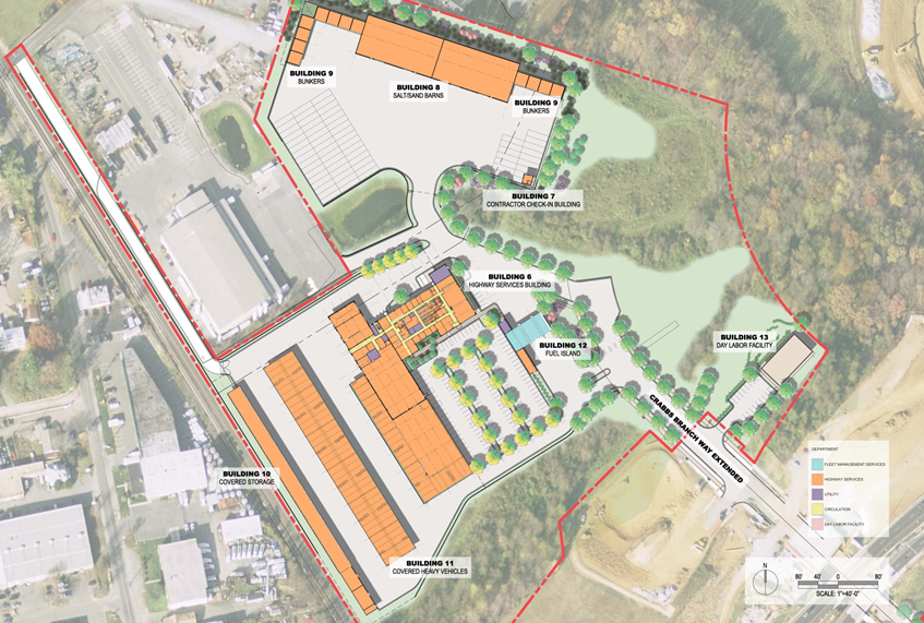 EMTOC - Site Plan for Highway Maintenance and Salt Barn