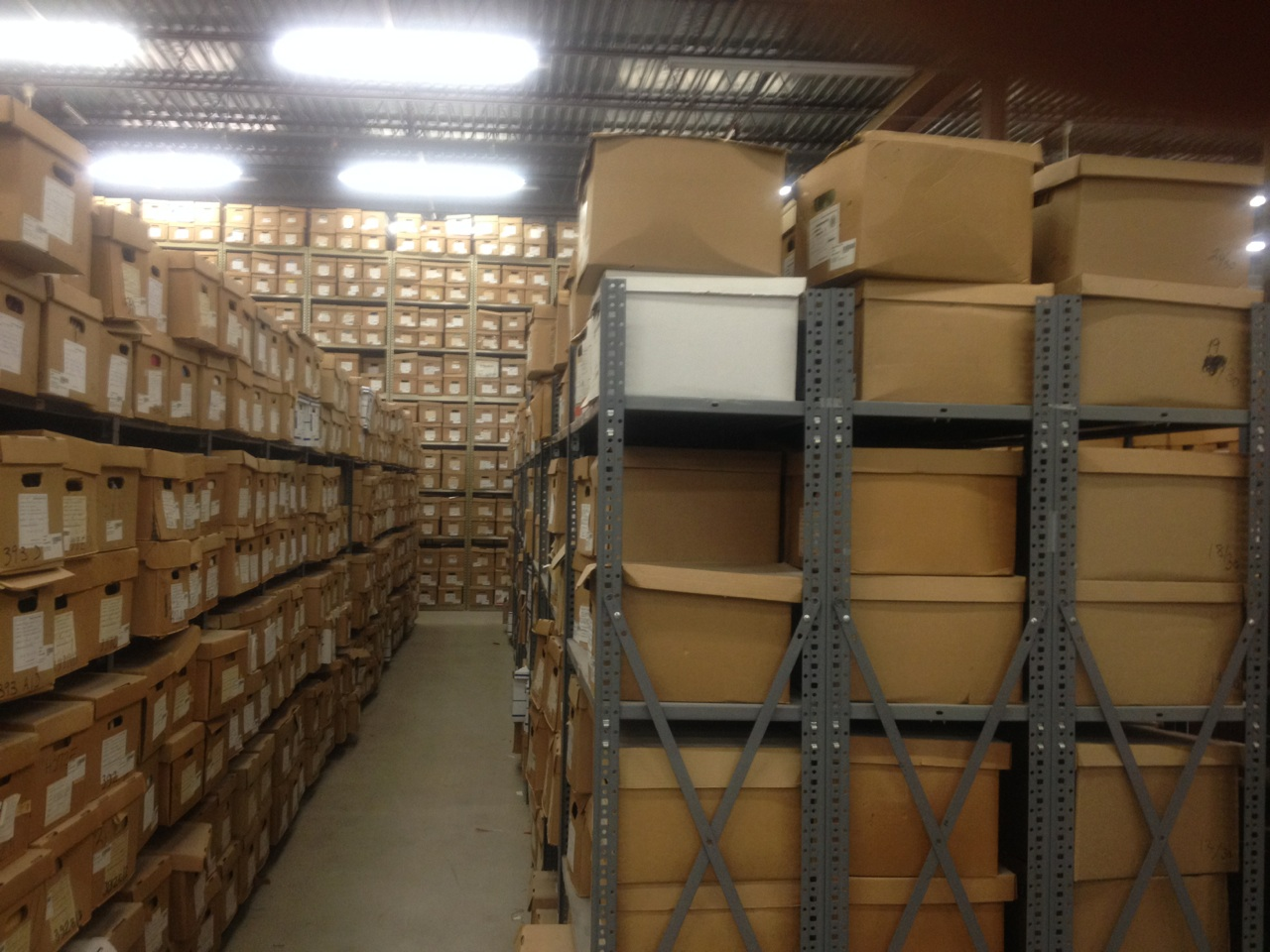 Records warehouse