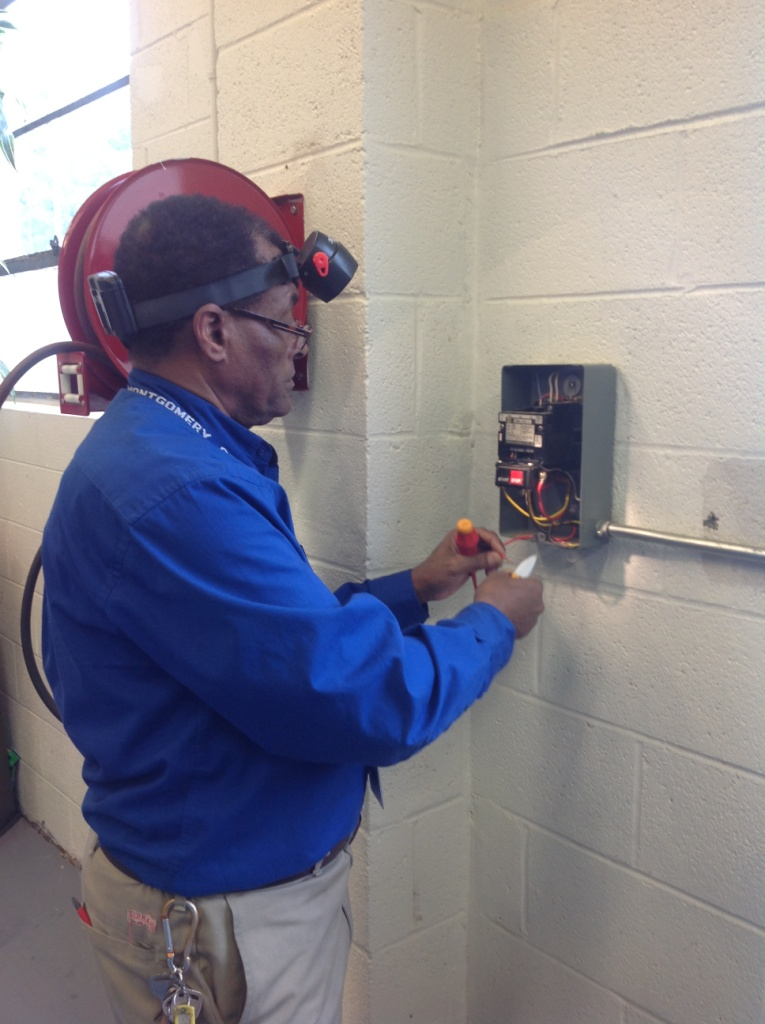 Facilities maintenance working picture