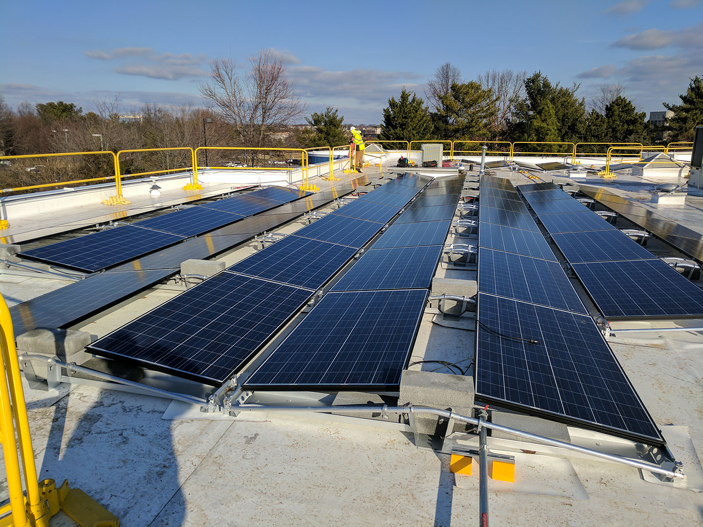 Kidstop Childcare Center solar panels on roof