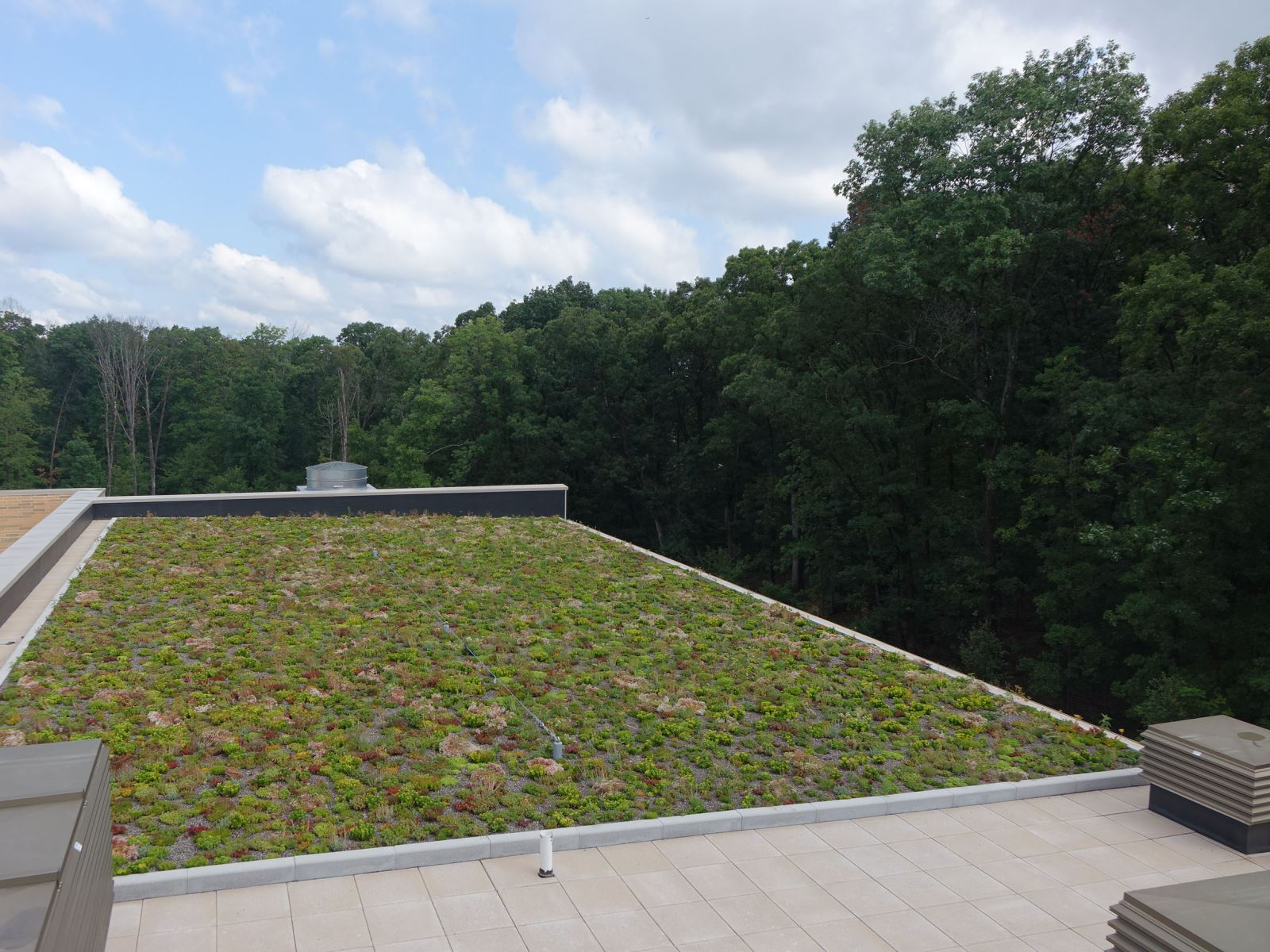 Green  roof at North Potomac Recreation Center