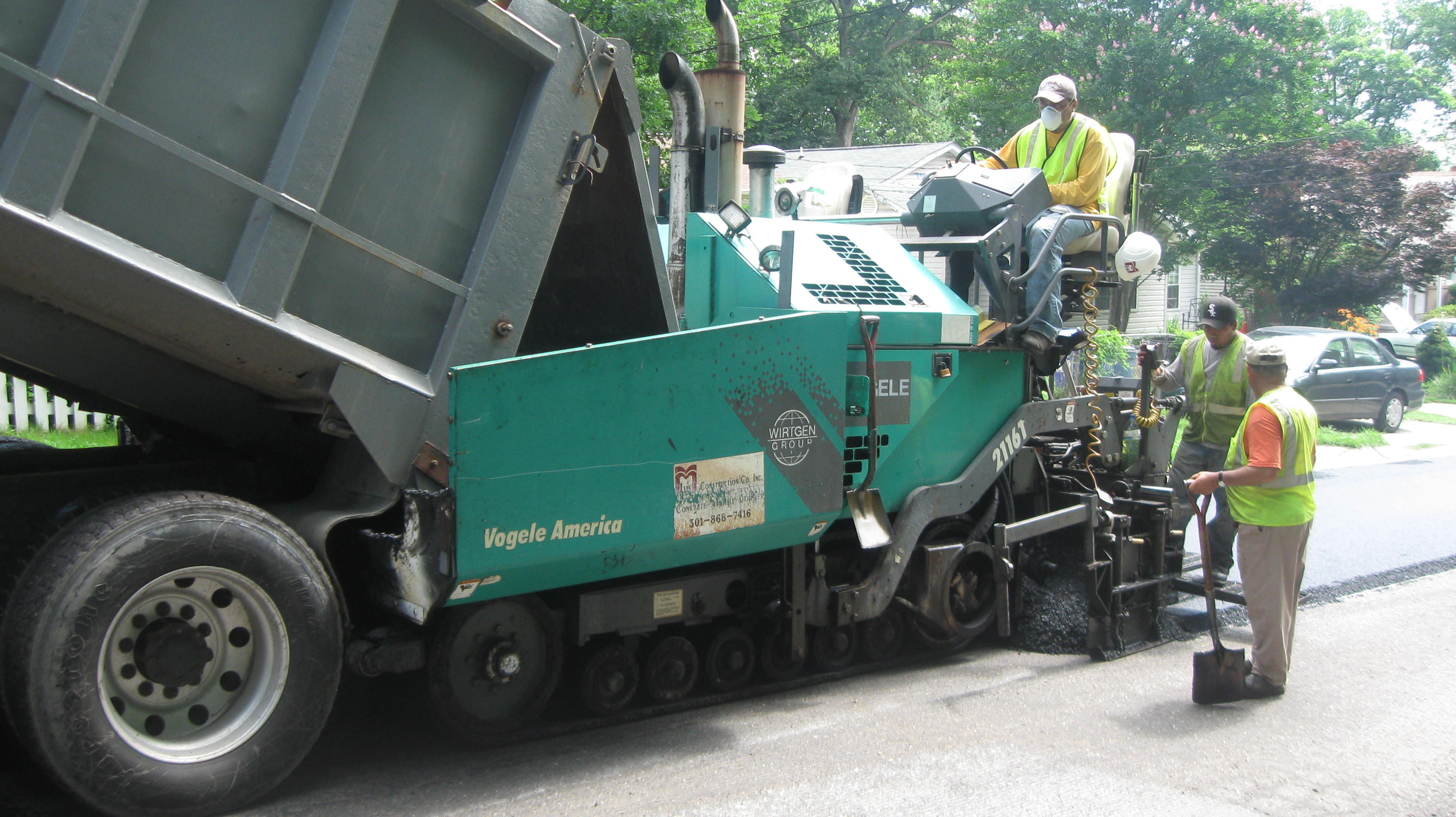 Montgomery County Pavement Management