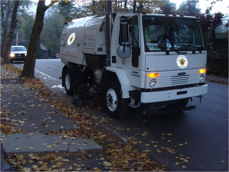 Montgomery County Street Sweeping