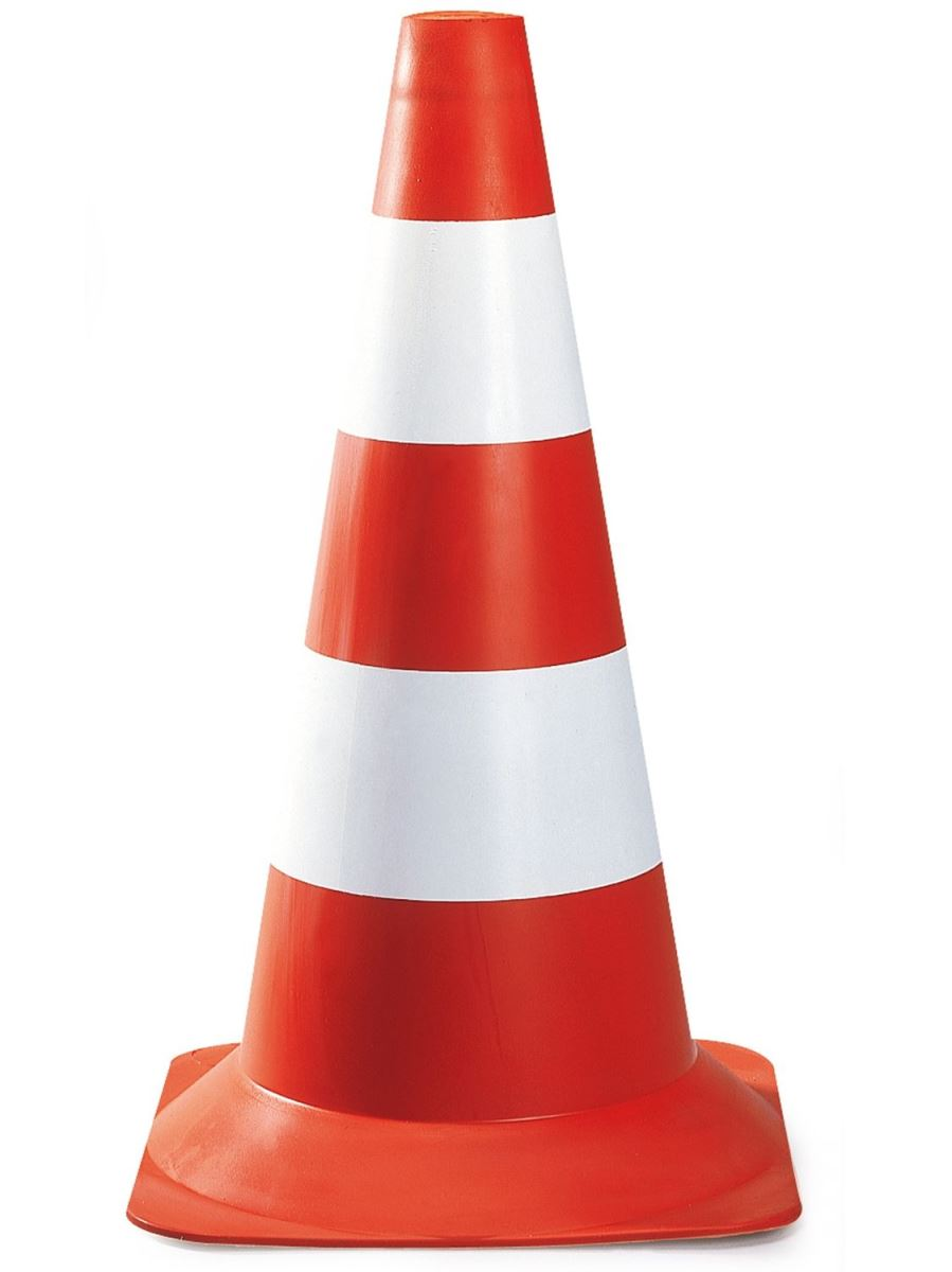 MCDOT - Division of Highway Services Traffic Cone On Road