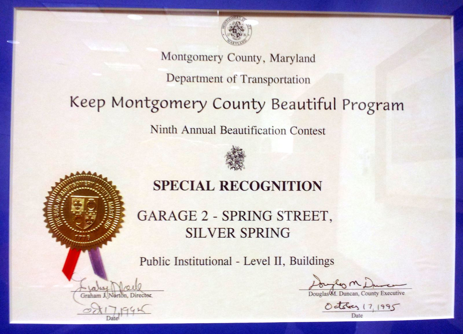Beautification Award