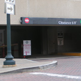 255 Rockville Pike Garage Entrance