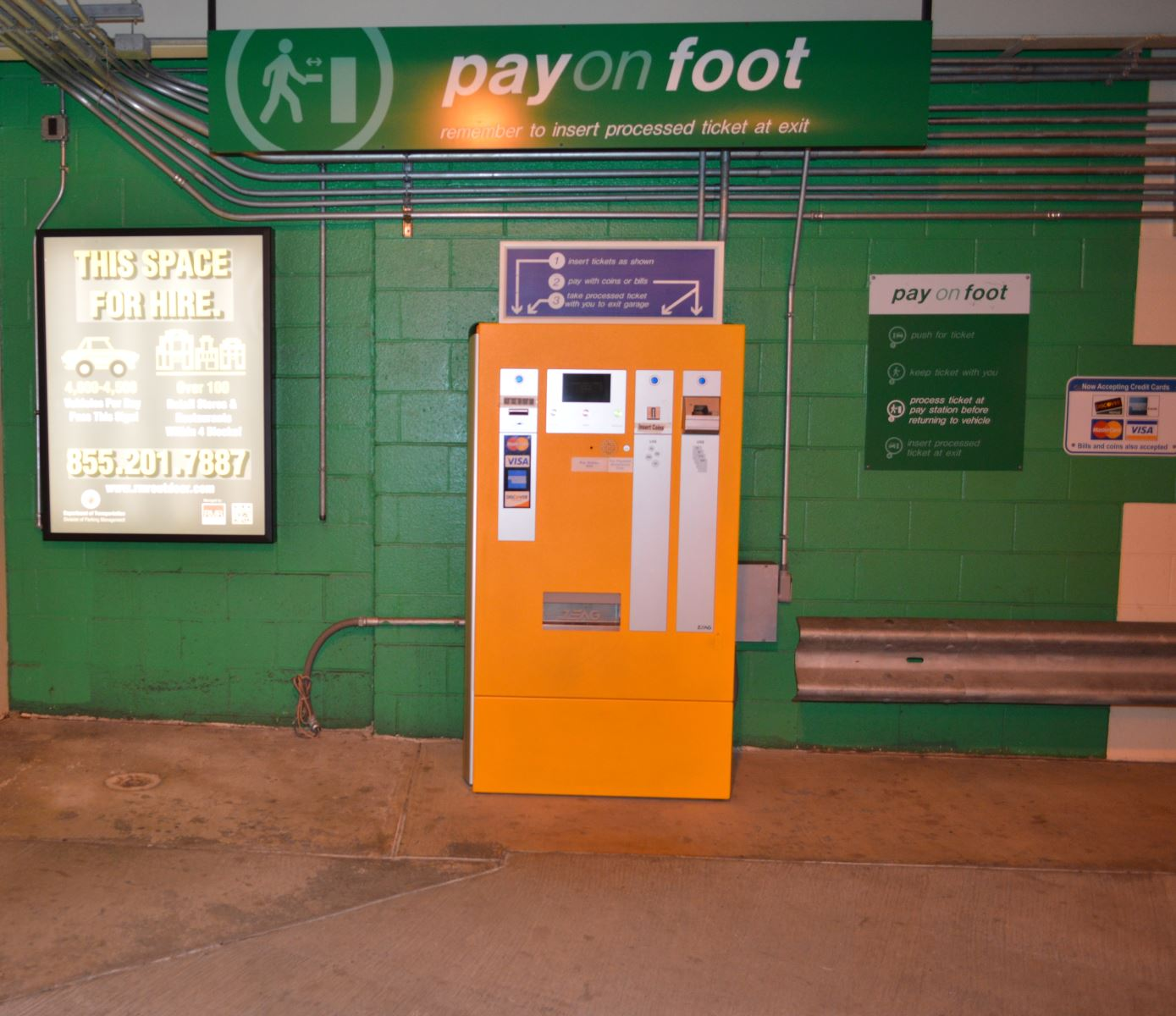 Pay on Foot