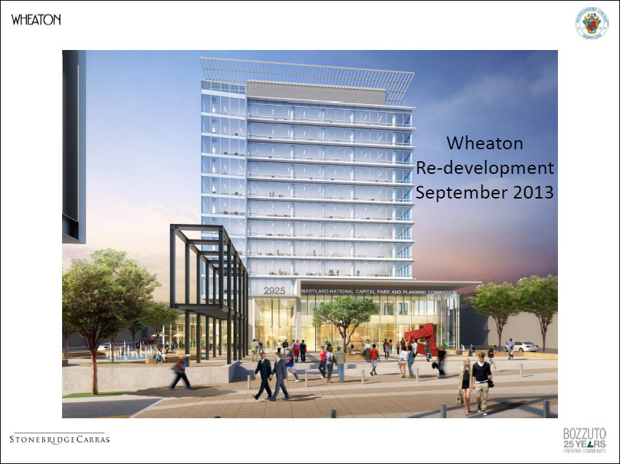 Wheaton and Silver Spring Project Objectives