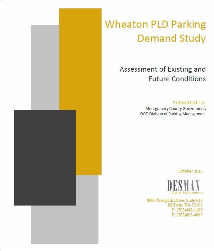 Wheaton Traffic Study