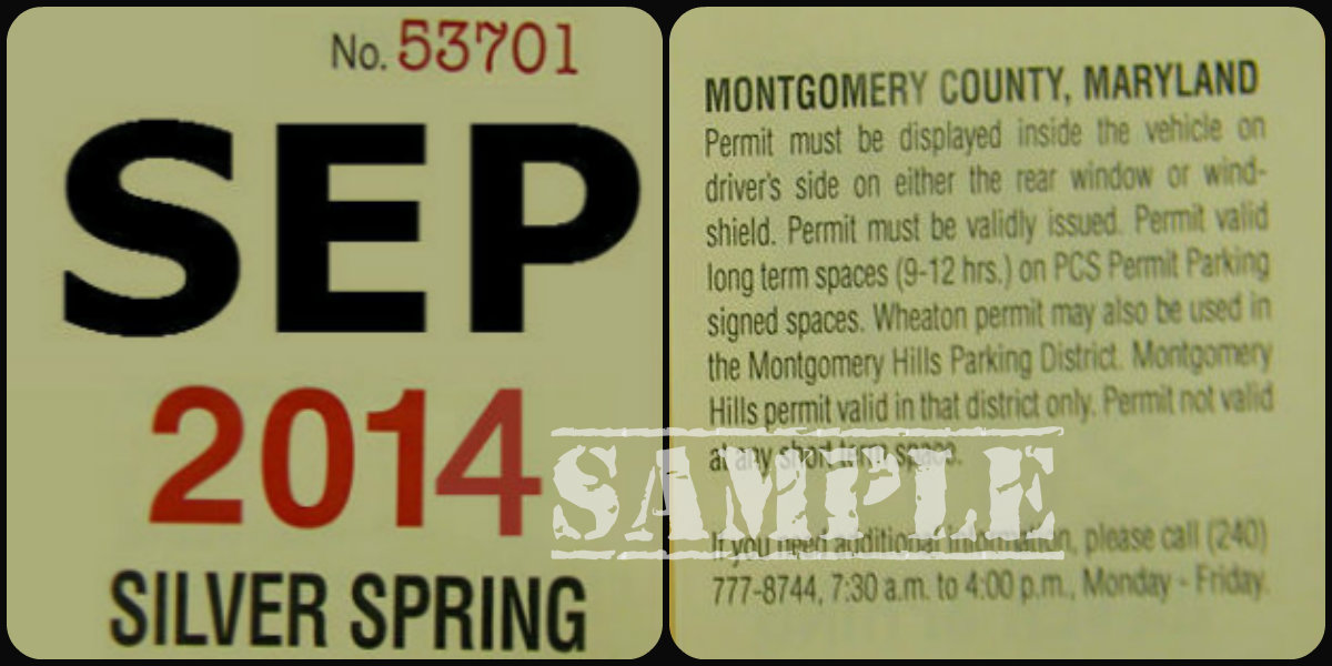 PCS Permit Sample