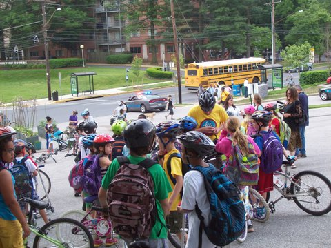National Walk to School Day is on May 7