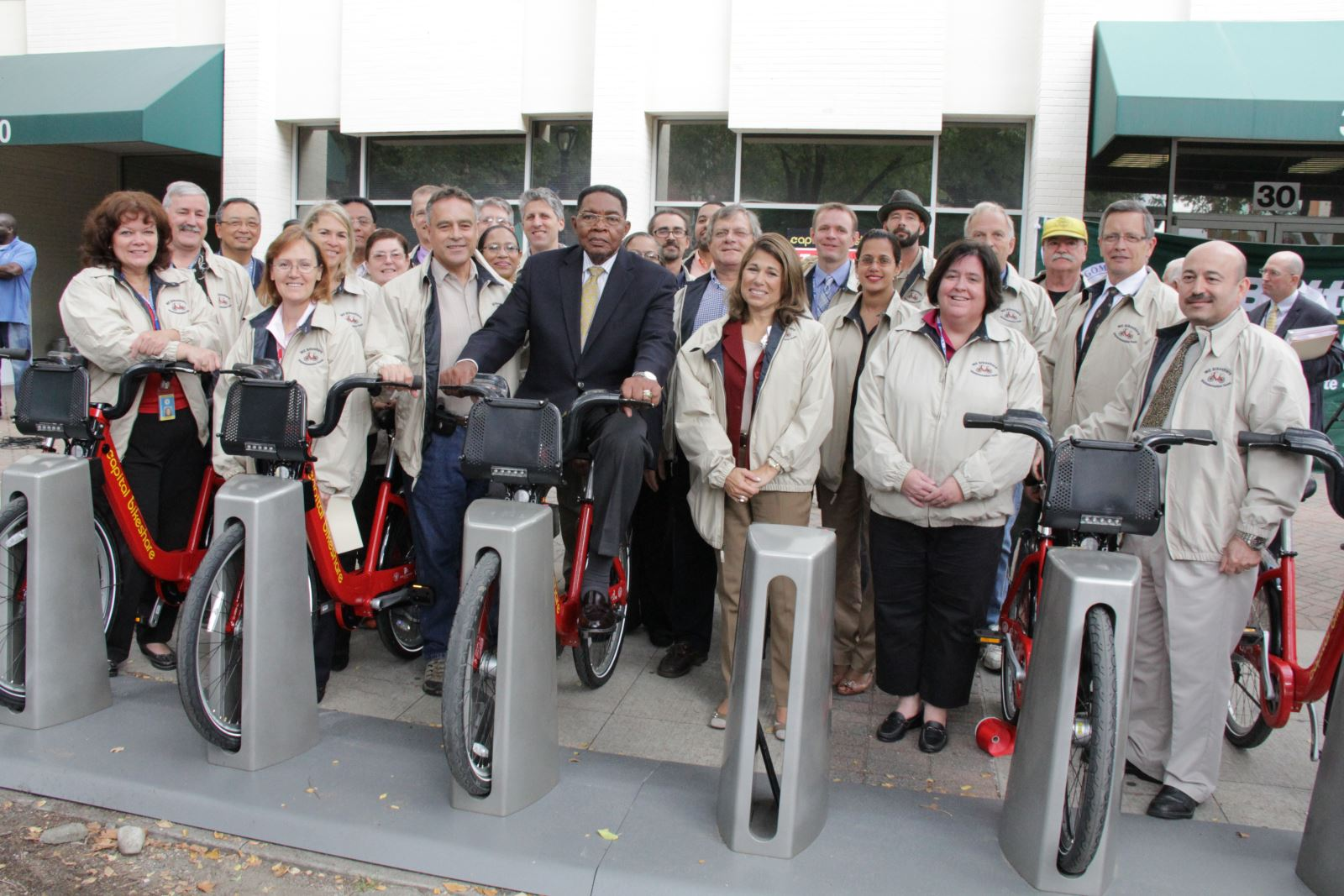 Bikeshare is open in Montgomery County!