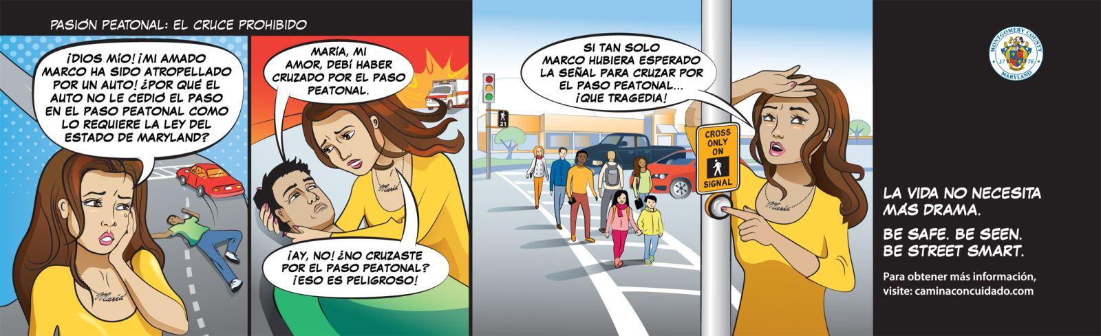Pasion Peatonal: El Cruce Prohibido