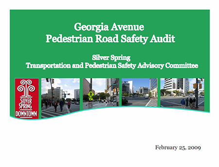 Cover to Georgian Ave Report