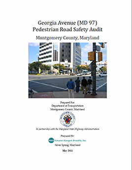 Georgia Avenue PRSA Summary Report
