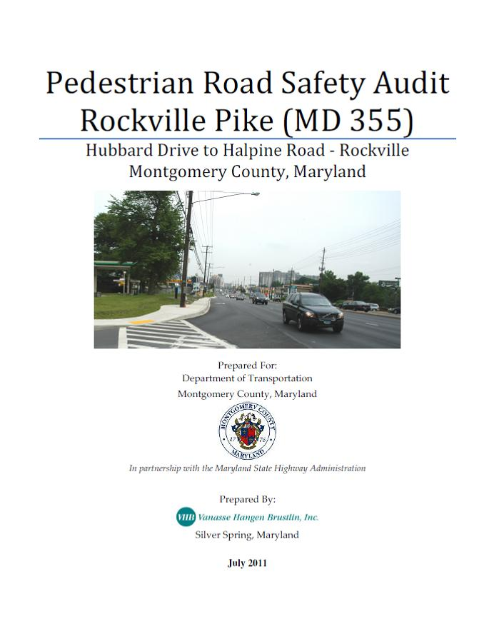 Rockville Pike summary report cover