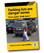 Parking lots are danger zones cover
