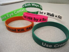 Blair High School Safety Bracelets