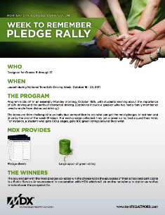 Miami, FL Pledge Rally Contest