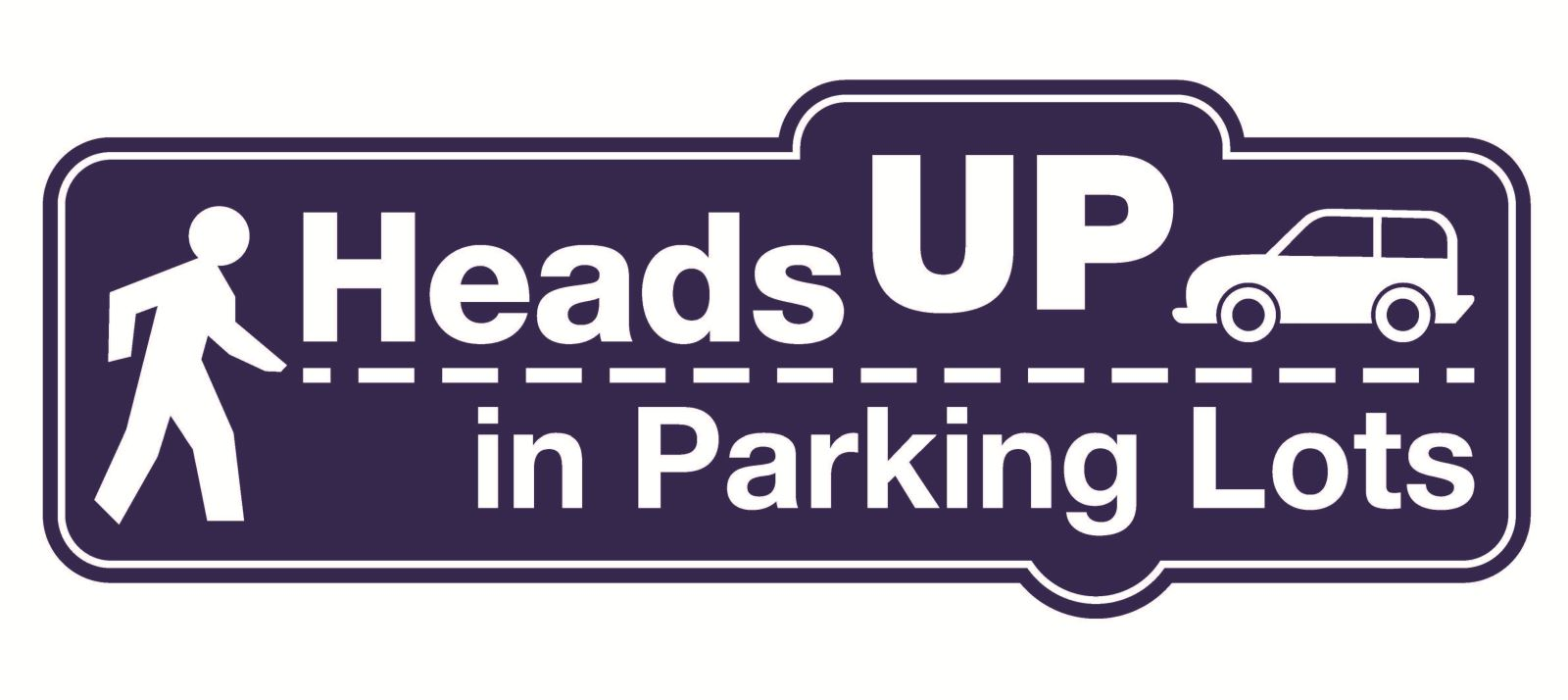 HeadsUp in Parking Lots Logo