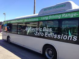 all electric rideon bus