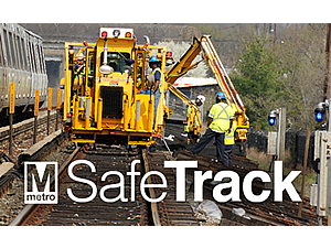 WMATA SafeTrack Metrorail initiative