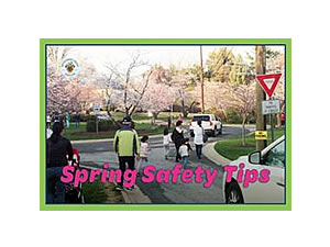 Spring safety tips