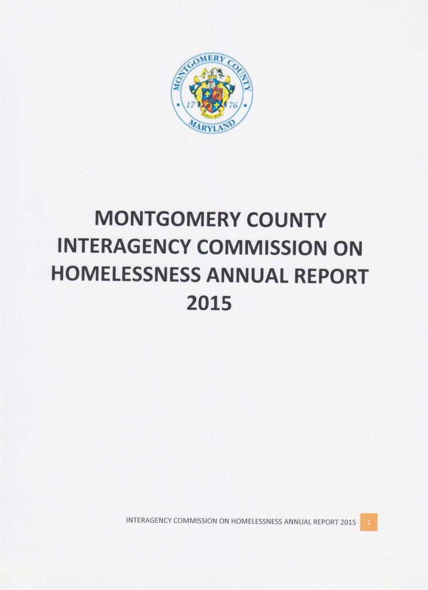 Annual Report 2015-Interagency Commission on Homelessness