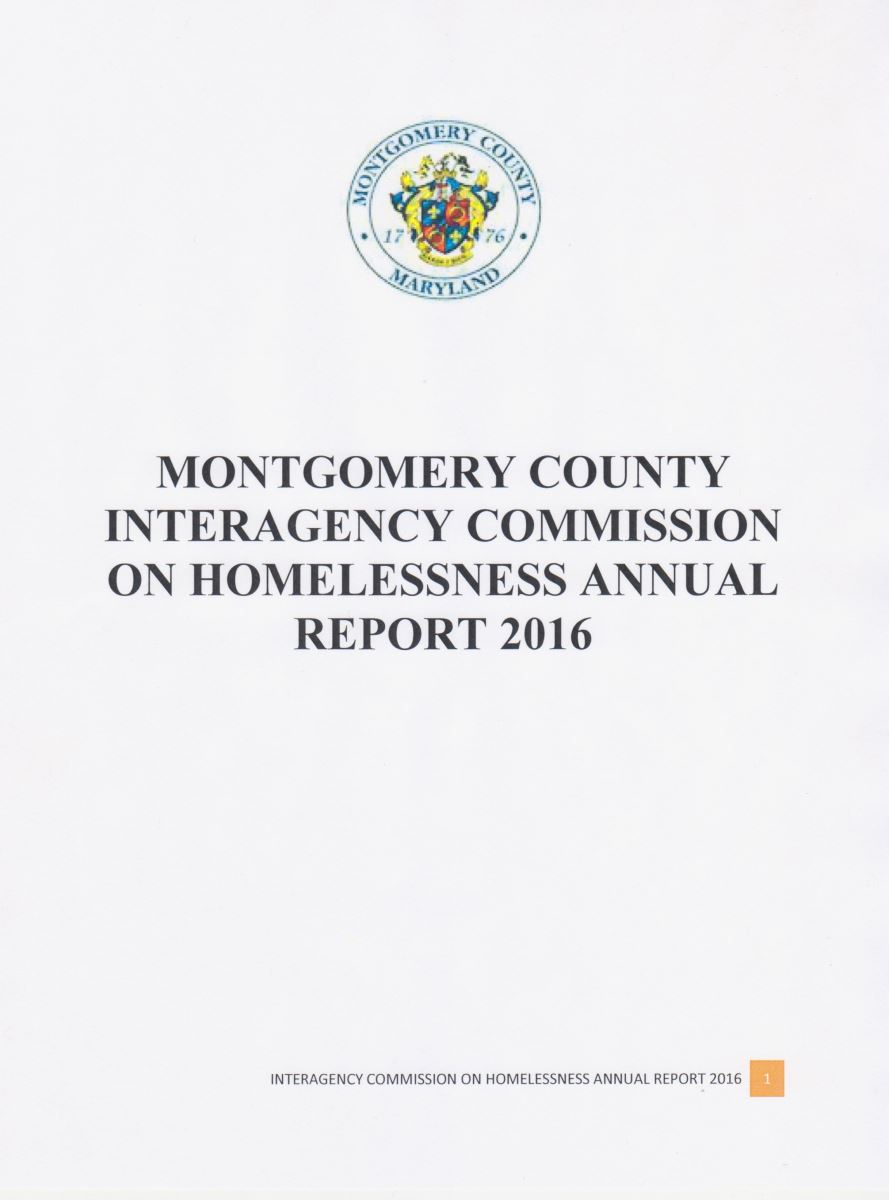 Annual Report 2016-Interagency Commission on Homelessness