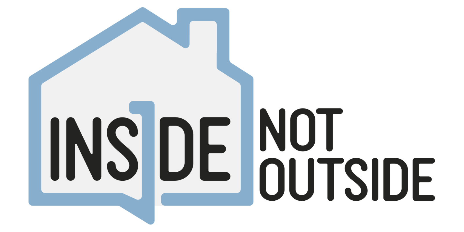 The inside not outside logo