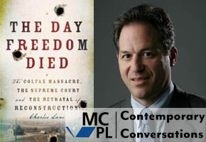 The Day Freedom Died cover and Charles Lane Photo