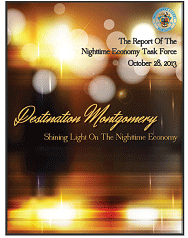 Nightime Economy Task Force Report  - Shining Light on the NIghttime Economy