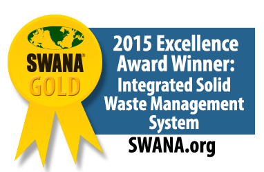 2015 Excellence Award Winner - Integrated Solid Waste Management System - Solid Waste Association of North America