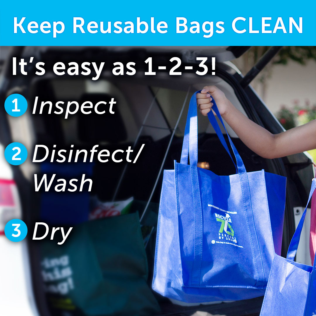 Clean reusable bags