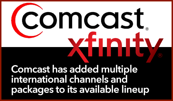 Comcast International Channels
