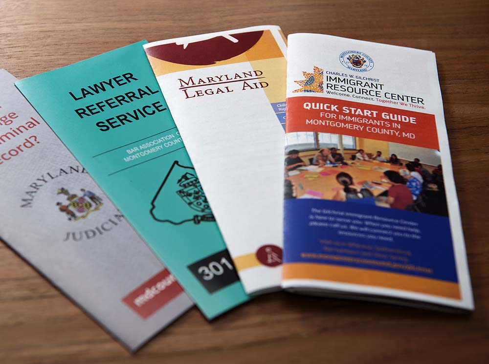 Law Library Self-Help Brochures
